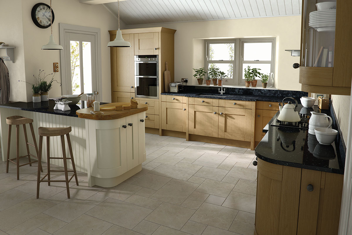 Wren Kitchens Electrical To Island